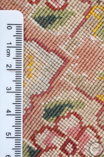 Persian Tabriz cirular rug with silk highlights