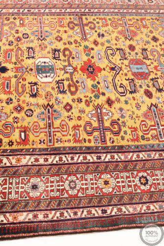 Shirvan design rug - 11'3 x 6'7