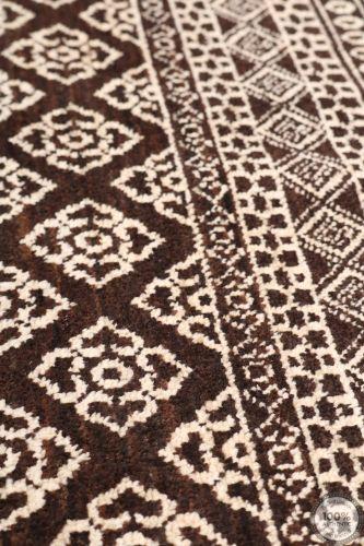 Garous Ziegler design modern rug - Black 6'2 x 4'1