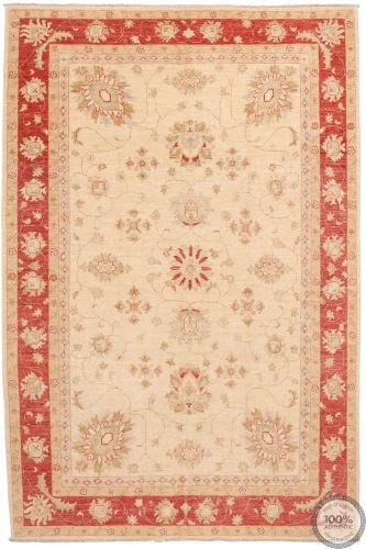 Garous Ziegler rug red border