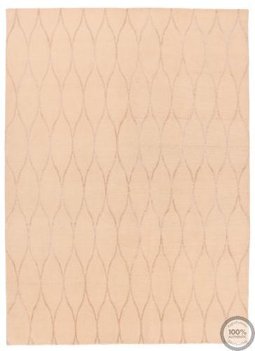 Modern rug part silk - 8'1 x 5'5