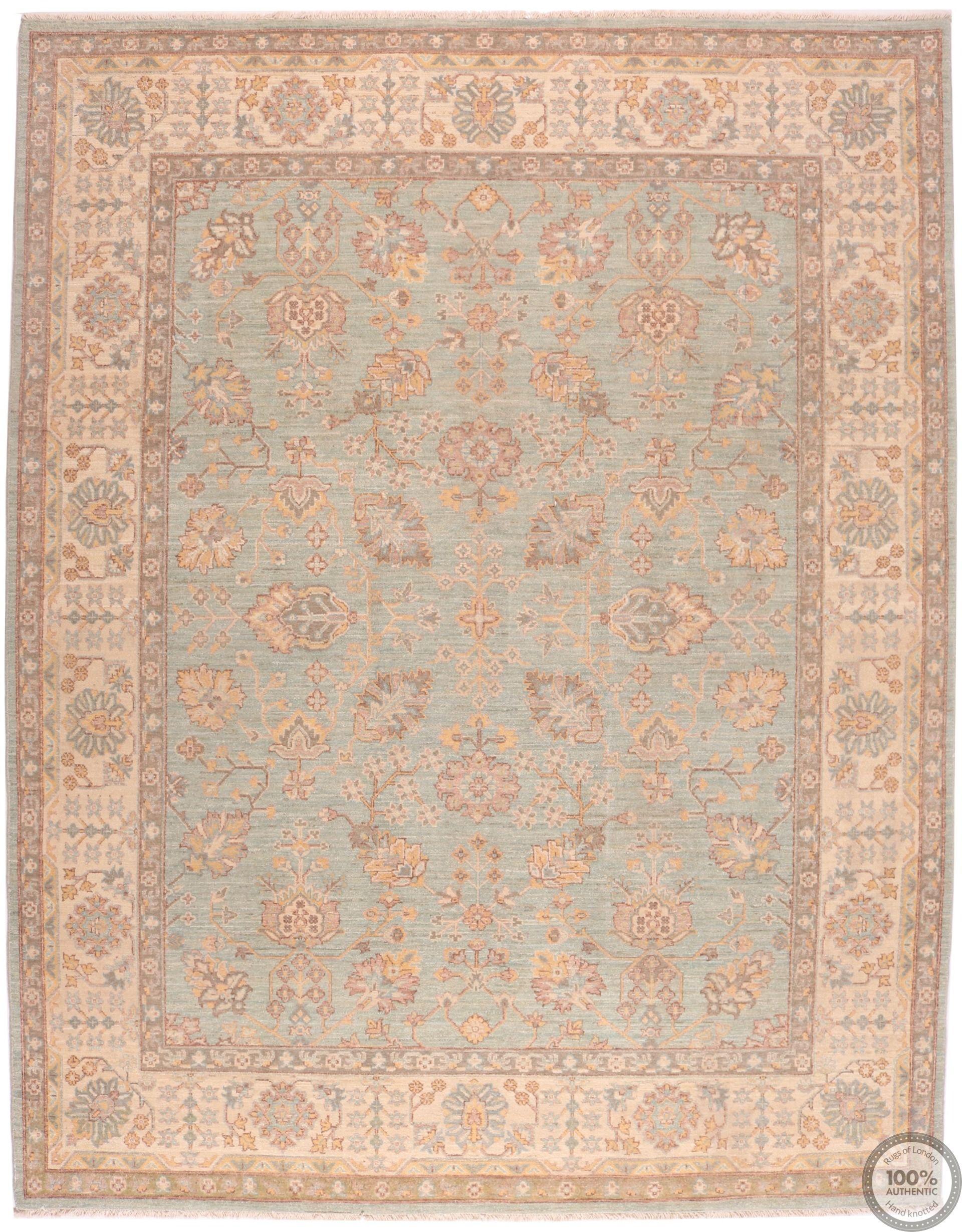 Garous Ziegler design rug - 9'8 x 8'1