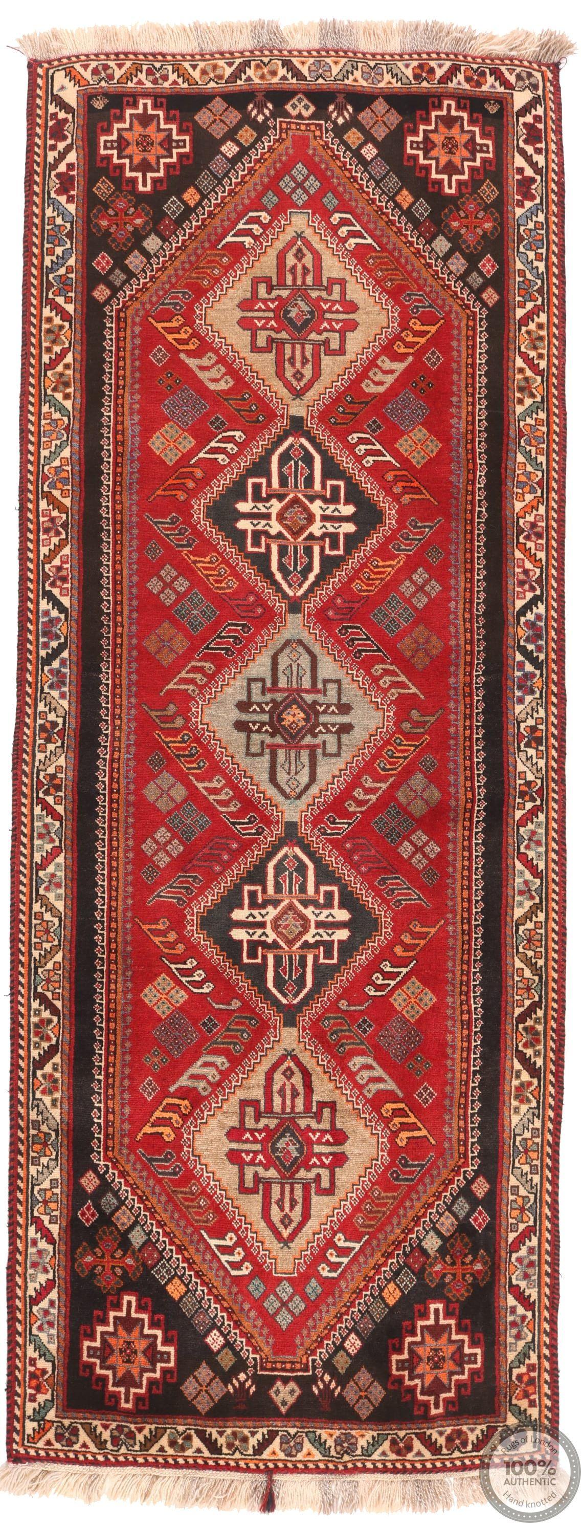 Persian Kashgai Qashgai runner rug