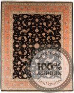 Persian Tabriz rug with silk highlights