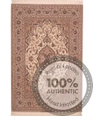 Fine Isfahan rug - signed Hosseini - 6'4 x 4'2