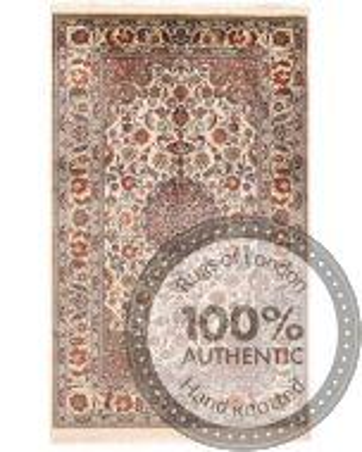 Persian Qum silk - 4'9 x 3'