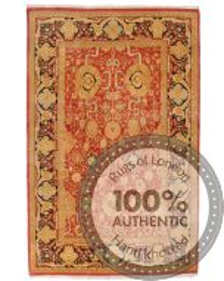 Fine Garous Ziegler design rug 9 x 5'8
