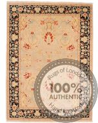 Fine Garous Ziegler design rug 8'2 x 6