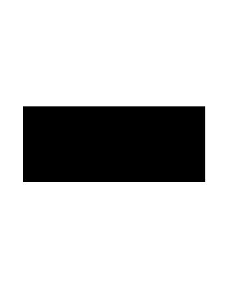 Garous Ziegler design circular rug - Red 4'6 x 4'5