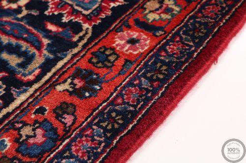 Persian Mashad rug red