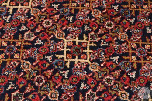 Persian Meshgabad runner rug red - Circa 1940