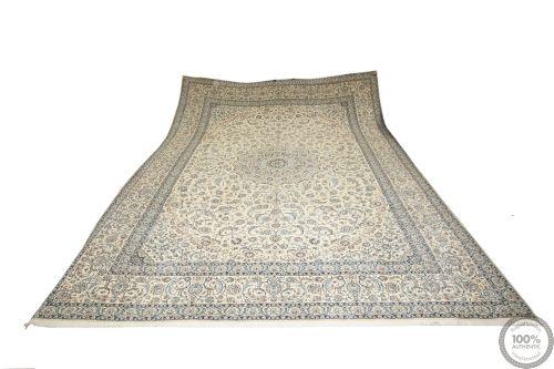 Nain 9La rug with silk highlights - 20'2 x 13'1