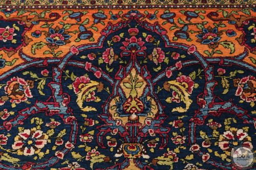 Antique Fine Isfahan Rug - Circa 1910