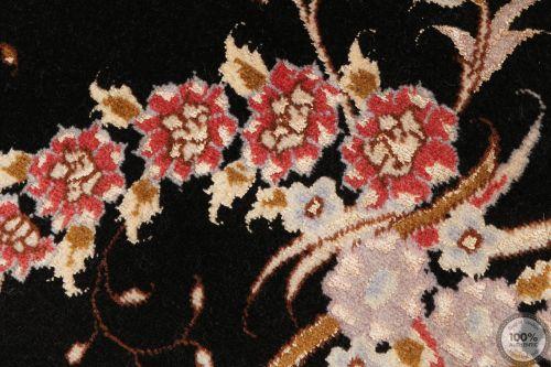 Persian Tabriz rug with silk highlights