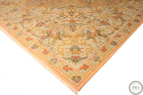 PERSIAN TABRIZ 60RAJ WITH SILK HIGHLIGHTS