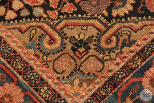 Antique Nahavand Rug -11' x 4'7