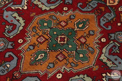 Caucasian Kazak Design Rug in Red - zoom