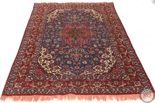 Fine Antique Isfahan Rug - Circa  1920