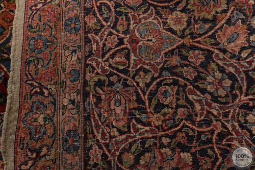 Antique Persian Kerman 22'8 x 11'4