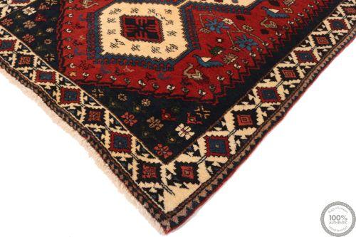 Persian Yalameh / Yallameh runner rug red