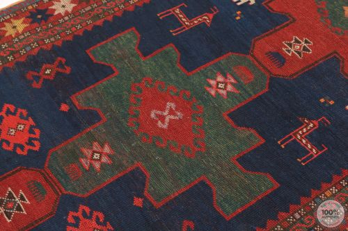 Caucasian Antique Rug - Circa 1900