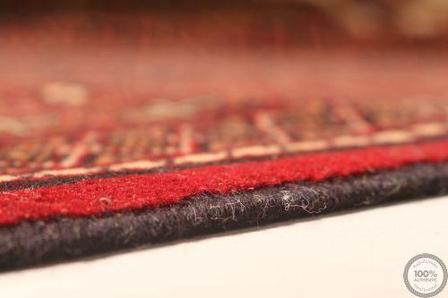Turkmen rugs red