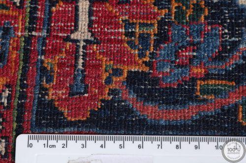 Antique Persian Mashad rug - 15.2 x 10.8