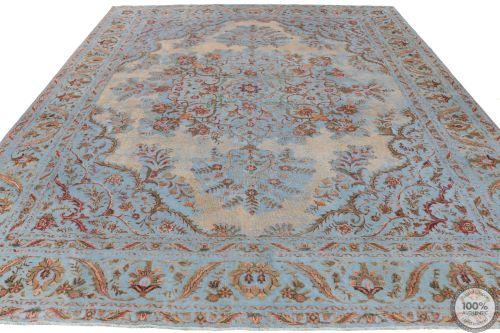 Persian Tabriz Vintage Rug - 12'3 x 9'1