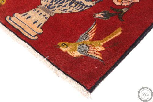 Persian Keshan/Kashan rug - 4'8 x 2'7