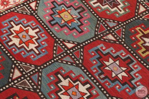 Caucasian Moghan Antique Rug - 7.8 x 3.7