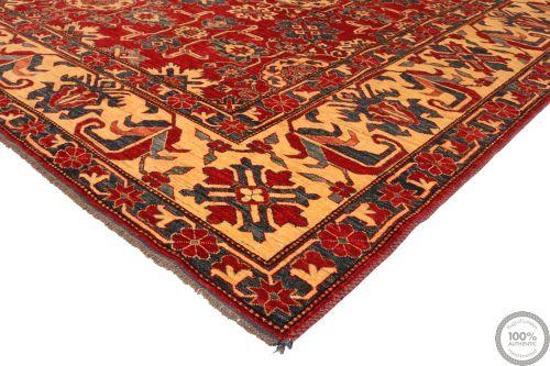 Caucasian / Kazak Design Rug - Red