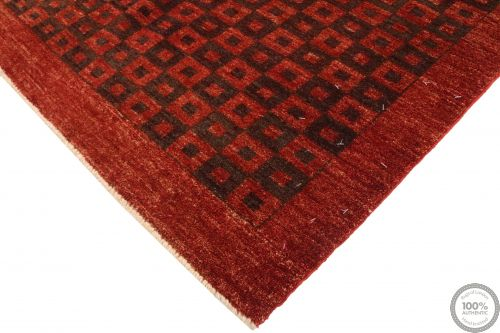 Garous Ziegler design modern rug - Burgundy & Brown 5'8 x 3'9