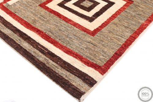 Garous Ziegler design modern rug - Squared Patterns 6 x 4'9