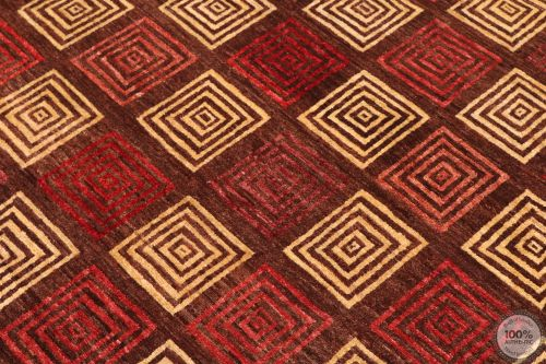 Modern Gabbeh with Square Design - large view