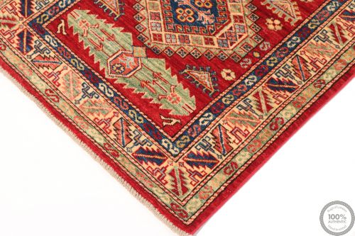 Caucasian Kazak Design Runner rug 8'2 x 2'7