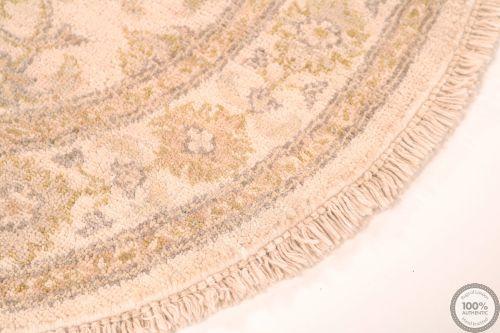 Circular Garous Ziegler design rug -  2'9 x 2'8