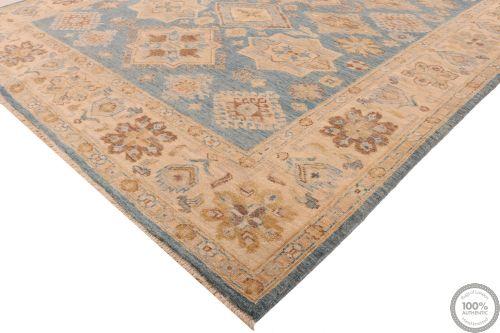 Garous Ziegler design rug - Deep Blue 7'81 x 5'58