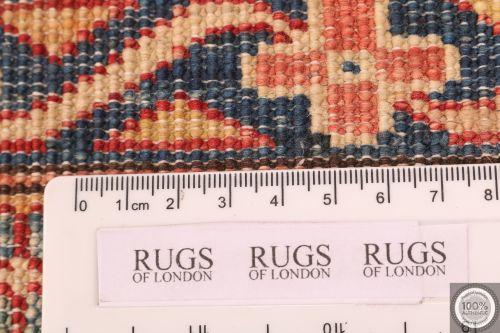 Caucasian Kazak design rug red