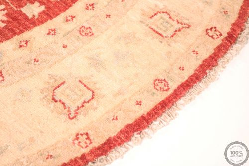 Circular Garous Ziegler design rug -  4'7 x 4'6