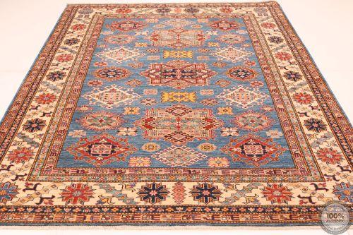 Caucasian Kazak Design rug - Deep Blue