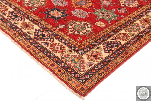 Caucasian Kazak design rug - red