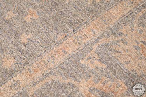 Garous Ziegler design rug grey 9'6 x 6'6