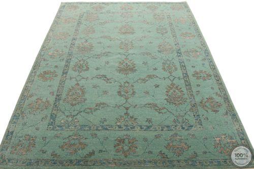 contemporary modern rug - part silk