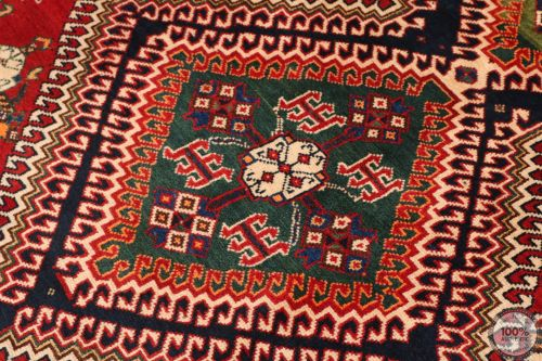 Antique Persian Shekarlou Rug - 9'3 x 5'5