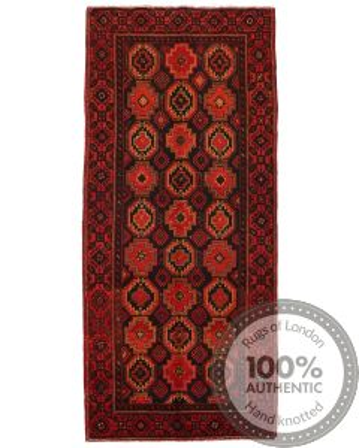 Persian Balouch runner rug red