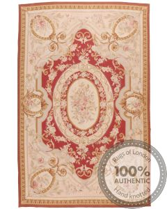 Aubusson Design Rug - 9 x 6