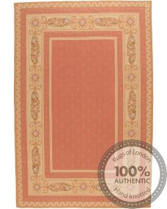 Pink Aubusson Design 9'8 x 6'5