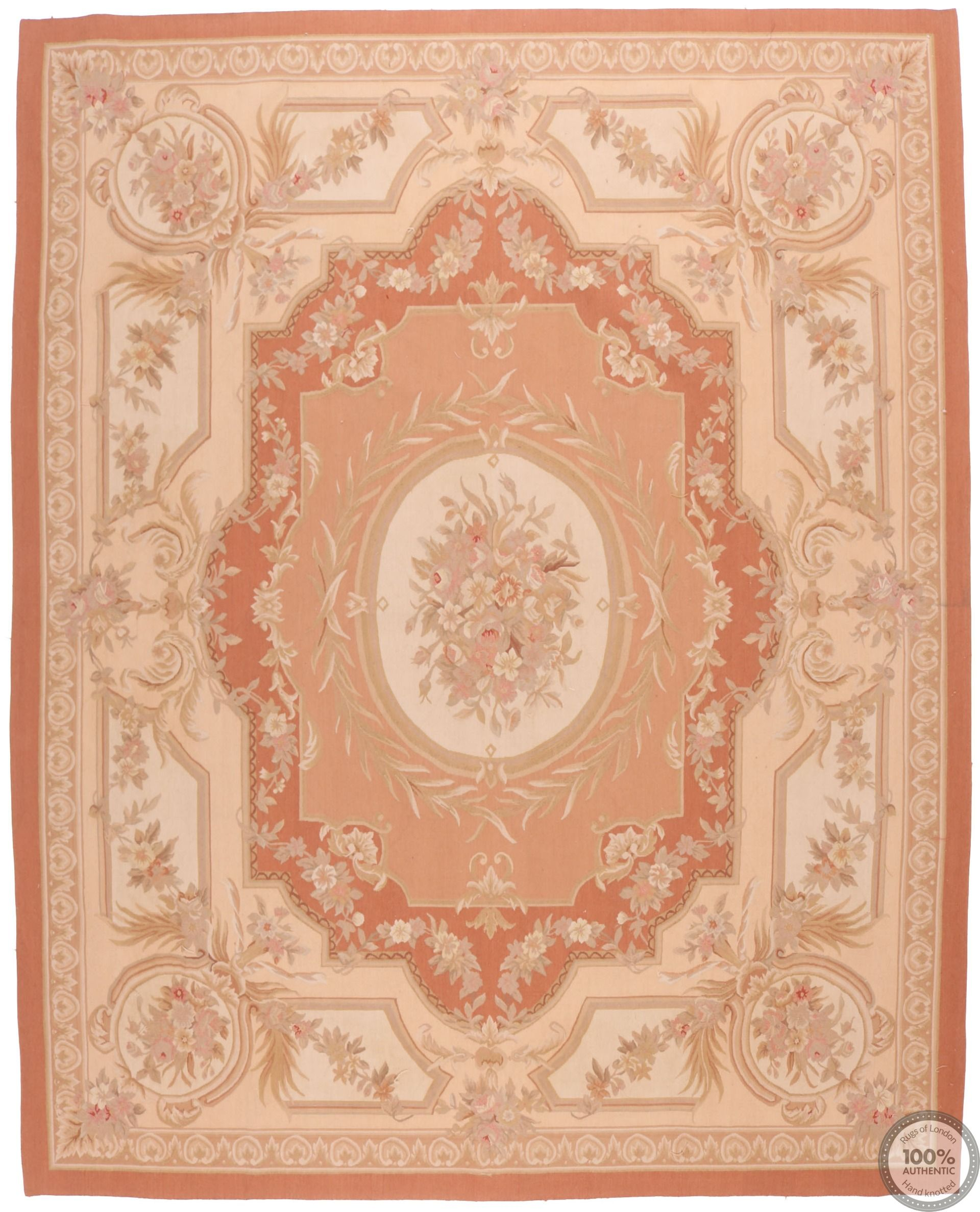 French Aubusson floral design - Design 53