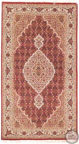 Tabriz Mahi design rug - red