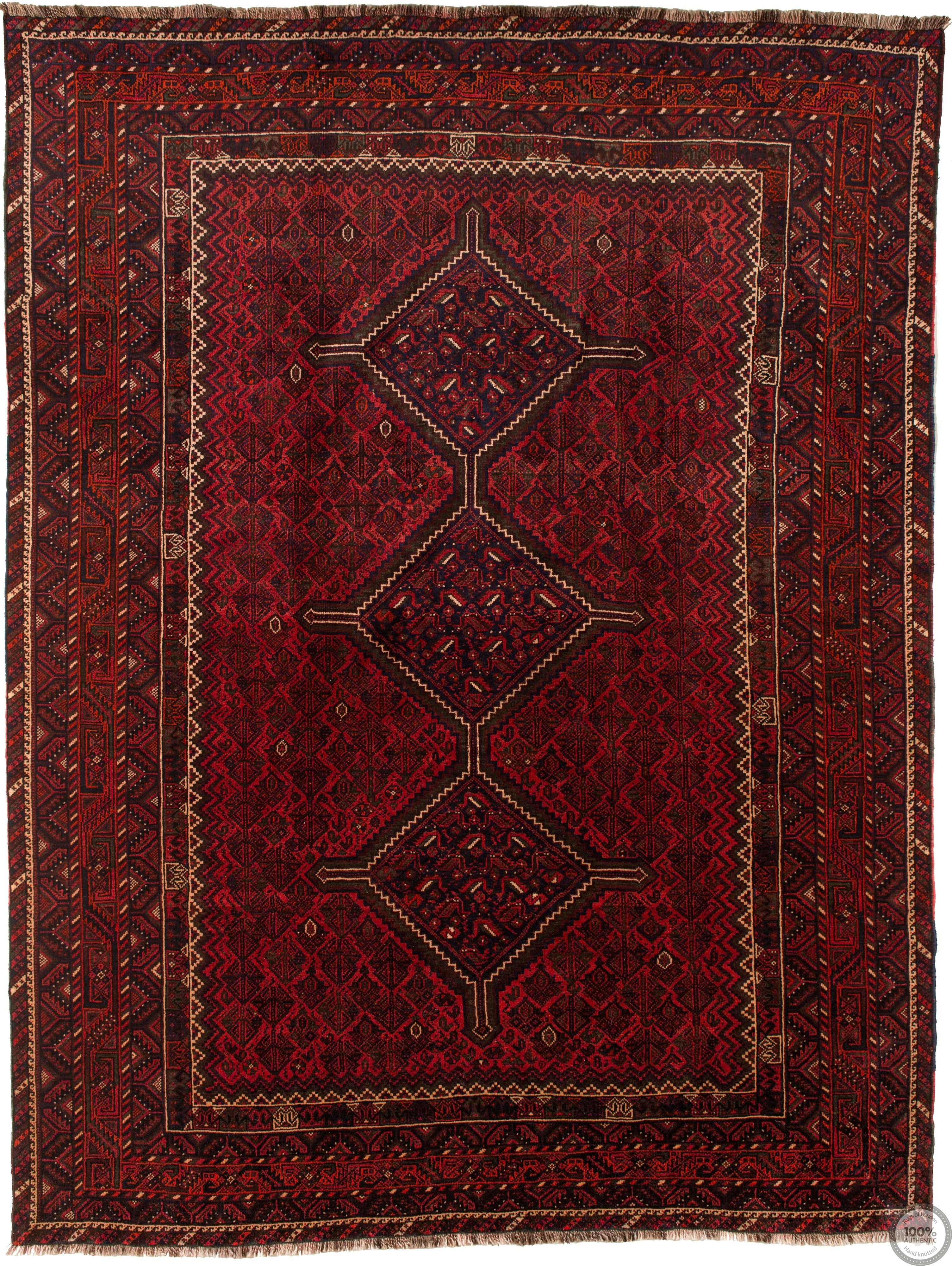 Shiraz Fine rug red